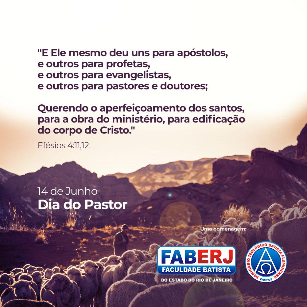 14 de Junho – Dia do Pastor