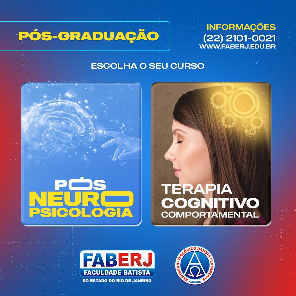 Cursos Pós-Graduação FABERJ