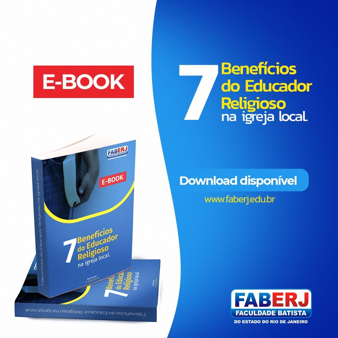 E-book 7 Benefícios do Educador Religioso