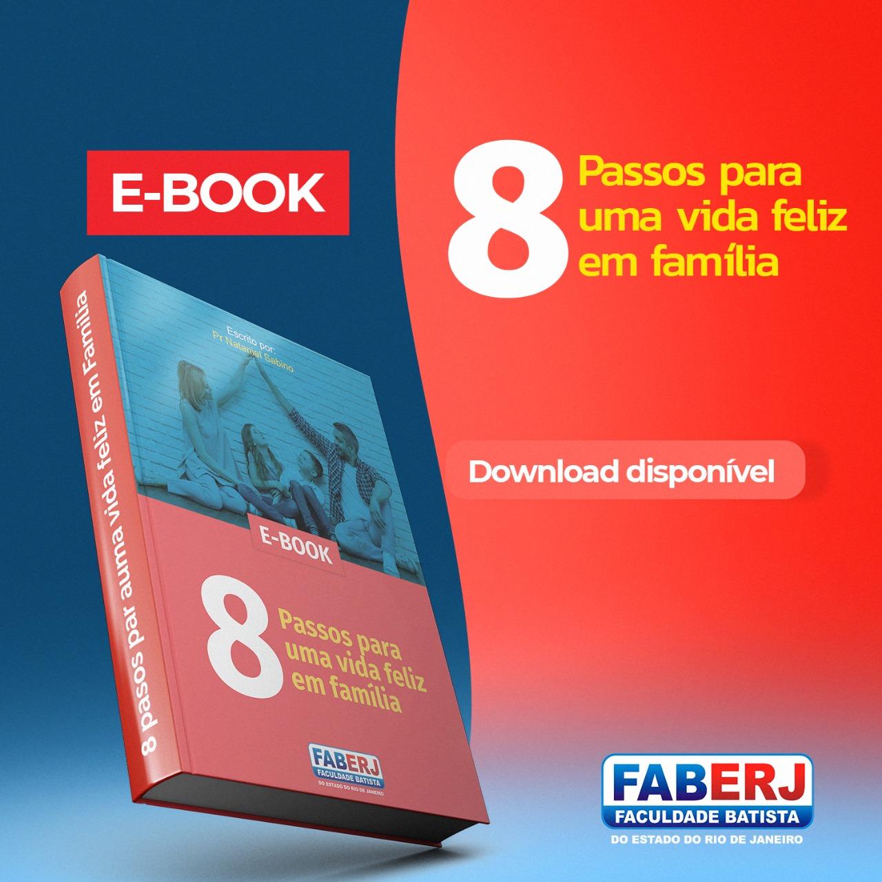 E-book 8 Passos para uma vida feliz em família