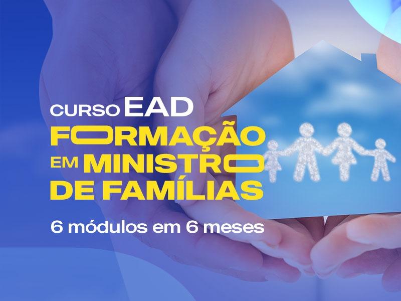 Curso EAD Formação em Ministro de Família