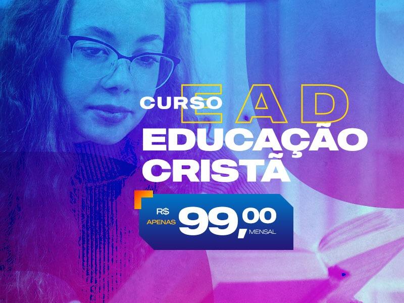 Curso EAD Educação Cristã