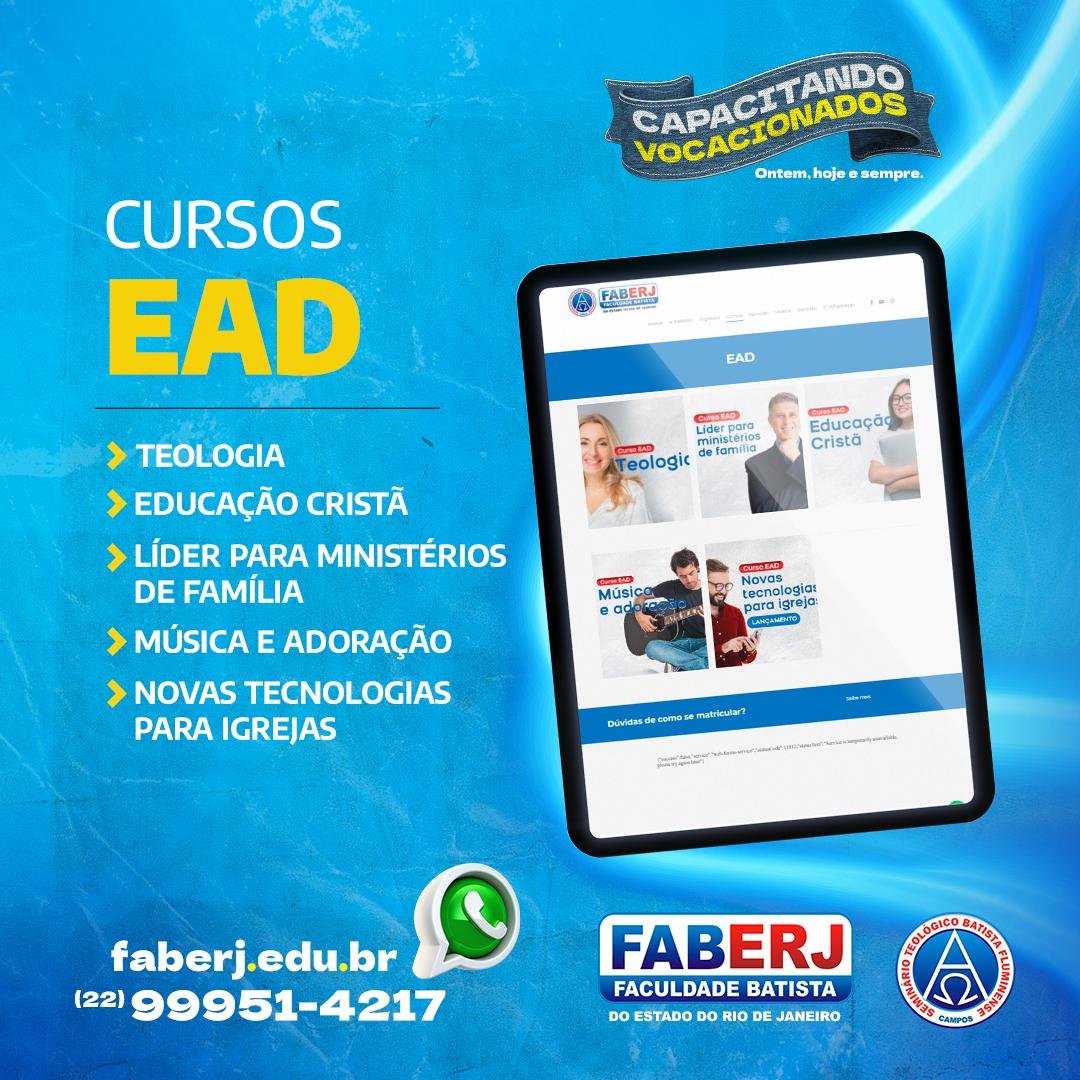 Conheça nossos Cursos EAD