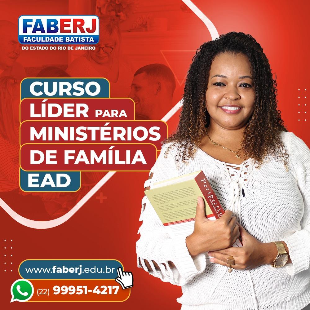 Curso EAD – Líder para Ministérios de Família
